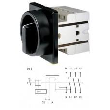 Арт. 134371 Выключатели S1 25A/400V, напряжение катушки 230V/50Hz IP54
