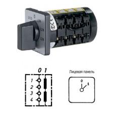 Арт. 137001 Кулачковый выключатель двухполюсный 5.5kW/400V~ AC-3 IP65. Код заказа B2N A2-F15-B-SI
