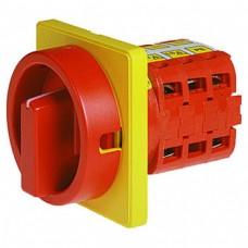 Арт. 141841 Выключатель нагрузки трехполюсный с N- и PE-клеммами V2N 05/HS-F3-D-RG 26A/400V IP54