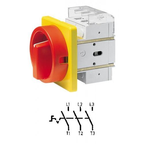 Арт. 302498 Выключатель нагрузки поворотный DK1 00/HS-F35-D-RG 3P/25A/690V/IP65
