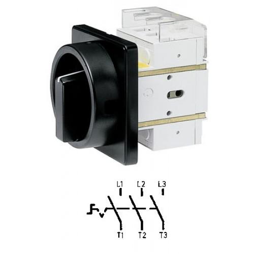 Арт. 34990525 Выключатель нагрузки поворотный, трехполюсный DK4 00/HS-F45-D-SS 80A/690V IP65