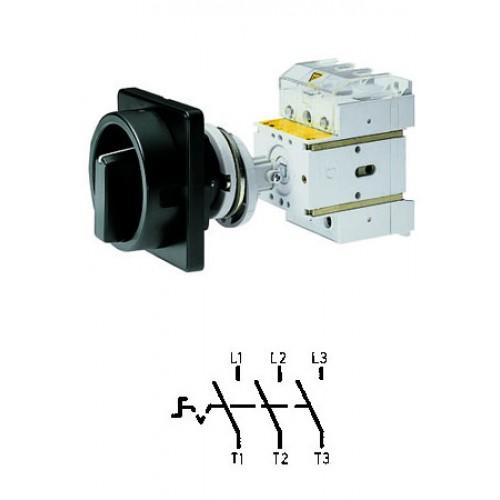 Арт. 303304 Выключатель нагрузки поворотный, трехполюсный DK1 00/HS-NOF35-D-SS 25A/690V IP65