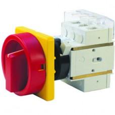Арт. 303311 Выключатель нагрузки поворотный, четырехполюсный DK1 04/HS-KZF25-D-RG 25A/690V IP65