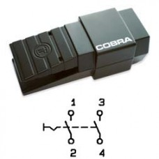 Арт. 305059 Выключатель 2-х полюсной, ступенчатая коммутация, 25 A 5.5kW/400V~ AC-3 IP65, код заказа FDC A2U-G