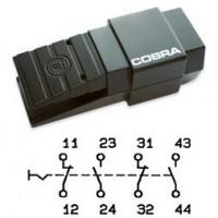 Арт. 305065 Переключатель 2 замыкающих /2 размыкающих контакта – ступенчатая коммутация, AC-15 6A/230V~ IP65, код заказа FDC 22U-G