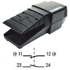 Арт. 305116 Переключатель 1 замыкающий /1 размыкающий контакт – ключевая коммутация с инерционным контактом, 6A/230V~ AC-15 IP65, код заказа FGC 1ÖS-G