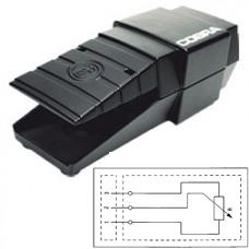 Арт. 308389 Выключатель ножной FPC 5KLIN-FG10-P-SSS IP65 с потенциометром 5 кОм
