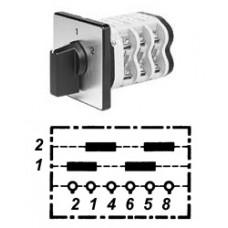 Арт. 146333 Двухполюсные кулачковые переключатели. Тип UD2., контактных отсеков - 2, 32A/690V IP54, код заказа V3N UD2-F3-B-SI