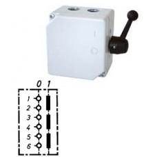 Арт. 46447 Моторный выключатель трехполюсный, 25A/690V IP65, код заказа TAG 16