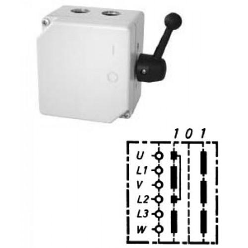 Арт. 46439 Моторный реверсивный выключатель, 25A/690V IP65, код заказа TWG 16
