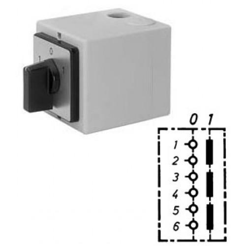 Арт. 143004 Моторный выключатель трехполюсный, 25A/690V IP65, код заказа AT 25