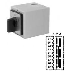 Арт. 143027 Моторный переключатель звезда - треугольник, 25A/400V IP65, код заказа YT 25
