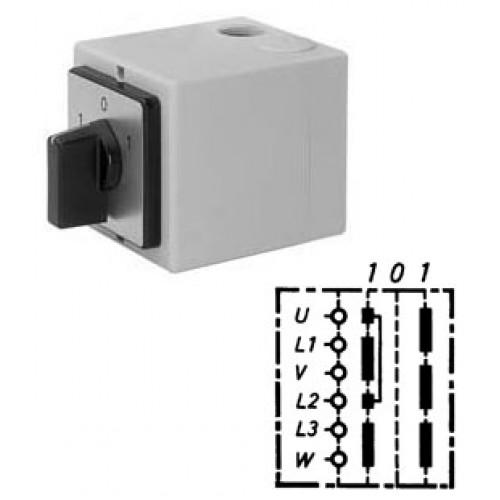 Арт. 147068 Моторный реверсивный выключатель, 32A/690V IP65, код заказа WT 32