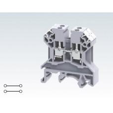 Арт. CTT2.5UJ Клеммы для подключения датчика термопары с винтовыми зажимами проводника до 2.5 мм.кв. 10A/1000V