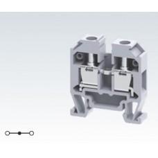 Арт. CMT4 Компактная проходная клемма, c винтовыми зажимами для проводника до 4 мм.кв. 32A/500V