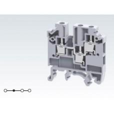 Арт. CMC1-2 Клемма проходная многорядная 1+2, с винтовыми зажимами проводника до 4 мм.кв., 32 A/630 V