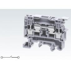 Арт. CSDL4U Клемма тестовая (разъединяемая), 2 терминала с винтовыми зажимами проводника сечением до 4 мм.кв. 10A/1000V