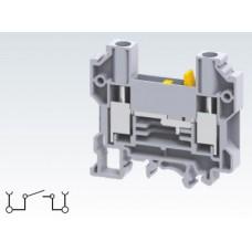 Арт. CDTTU Клемма тестовая (разъединяемая), терминалы с винтовыми зажимами проводника сечением до 10 мм.кв. 57A/800V