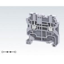 Арт. CY2.5 Клемма проходная, c винтовыми зажимами для проводника до 2.5 мм.кв. 24A/1000V