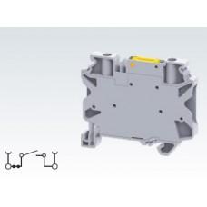 Арт. CYK4 Клемма тестовая (разъединяемая) серии CY, терминалы с винтовыми зажимами проводника сечением до 4 мм.кв. 28A/1000V