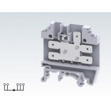 Арт. CTC4U Клемма для подключения проводников с ножевыми кабельными розетками, 32A/300V