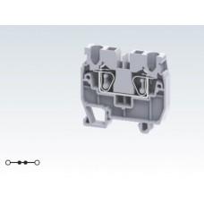 Арт. CXM2.5 Мини клемма с пружинным зажимом проводника до 2.5 мм.кв. 24A/1000V