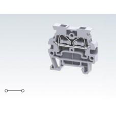 Арт. CMS2.5 Мини клемма с пружинным зажимом проводника до 2.5 мм.кв. 24A/800V
