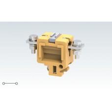 Арт. CTS35L Болтовая меламиновая клемма с креплением проводника до 50 мм.кв. 150A/1000V