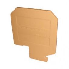 Арт. CTSEP3 Торцевая пластина, размер (H x W x T) 52 x 58 x 2.7 мм.