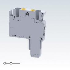Арт. CP2.5PD Подключаемая клемма с пружинными зажимами нажимного действия  до 2.5 мм.кв. 24A/500V