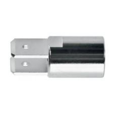 Арт. BU 4275 Ni /-1 Навинчивающаяся вилка для ножевых кабельных наконечников. Аксессуар для стационарных гнезд арт. BU 405 Ni, SDK 503,SDK 504, SDK 800, SDK 801, SDK 5230